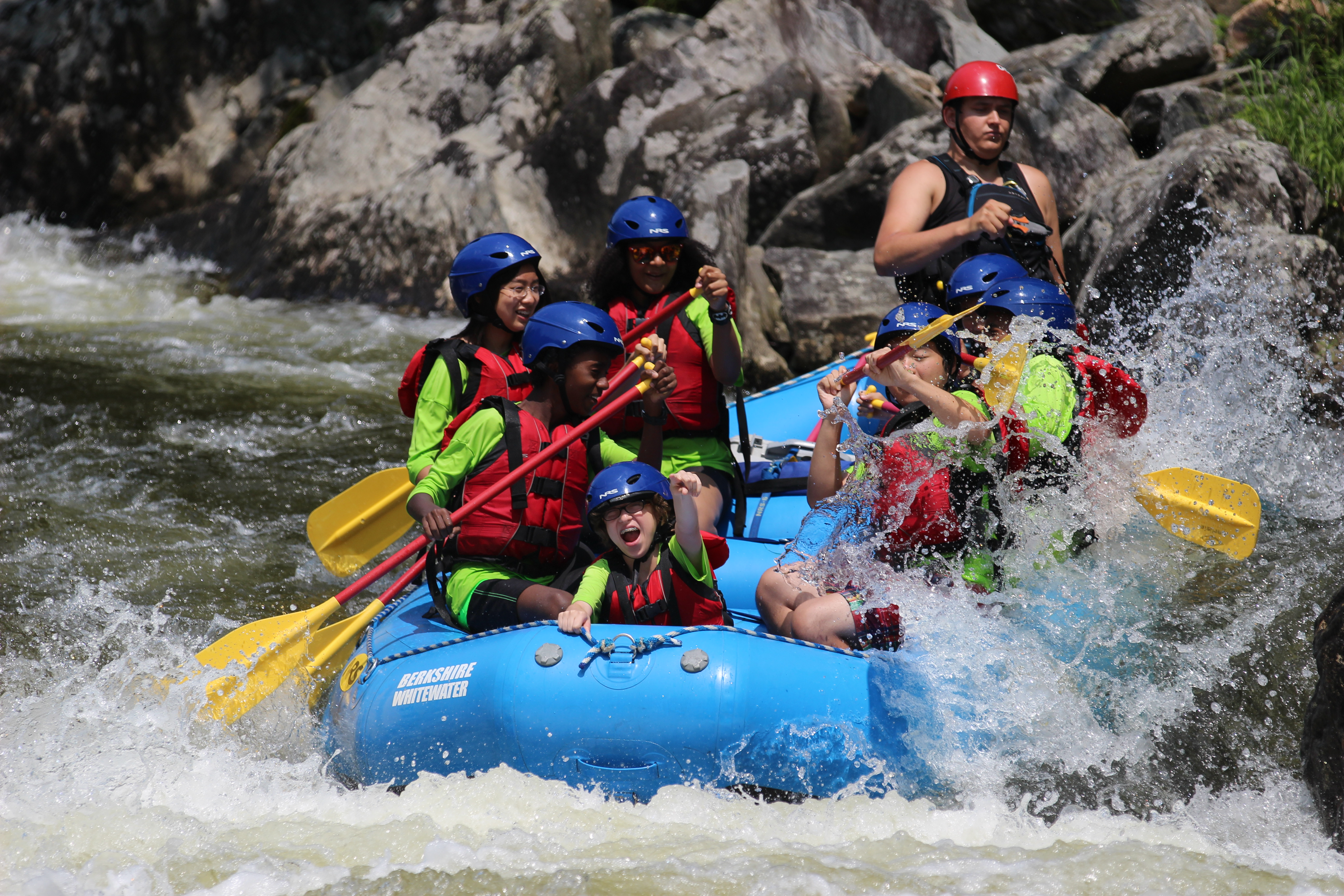 Our middle school students had some great summer fun today!