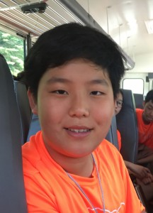Brandon, an international student from China
