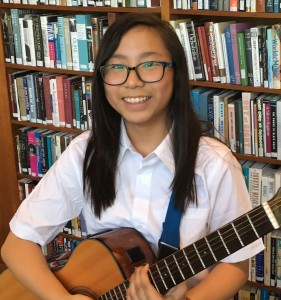Amelia, a very musical international student