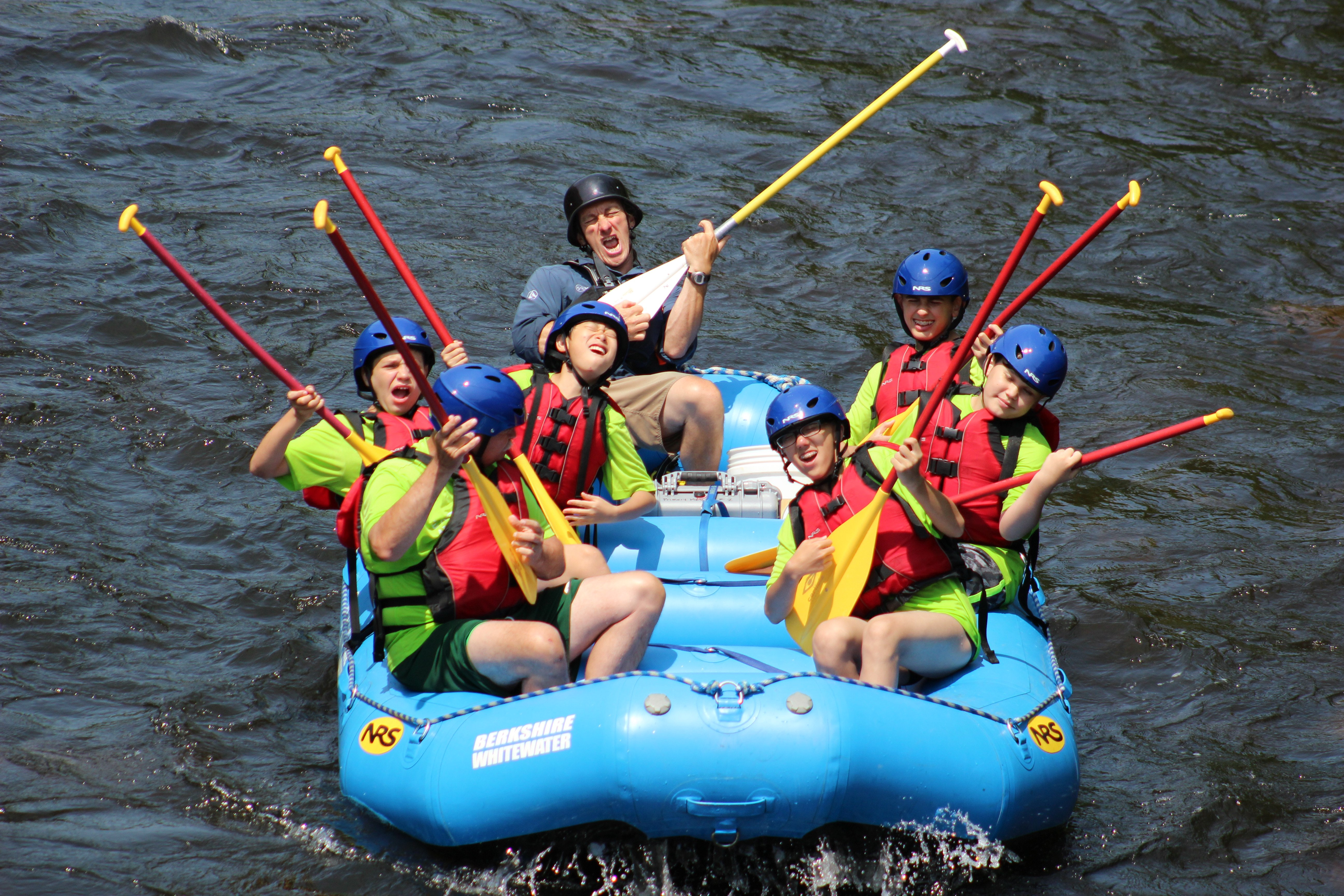 Music + Rafting? Don't rock the boat, but you can rock out on the boat.