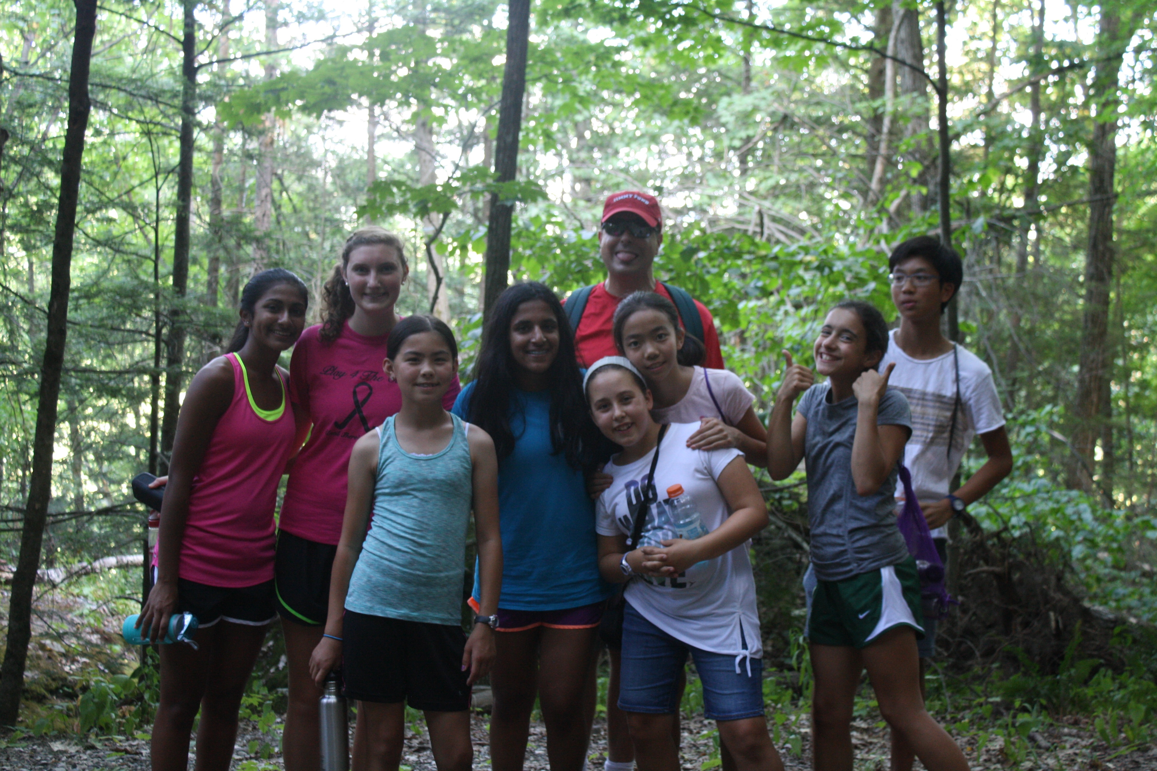The Hiking Co-Curricular visits a Massachusetts State Reservation