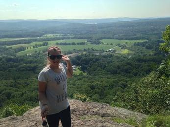 The Rock overlooks the Pioneer Valley