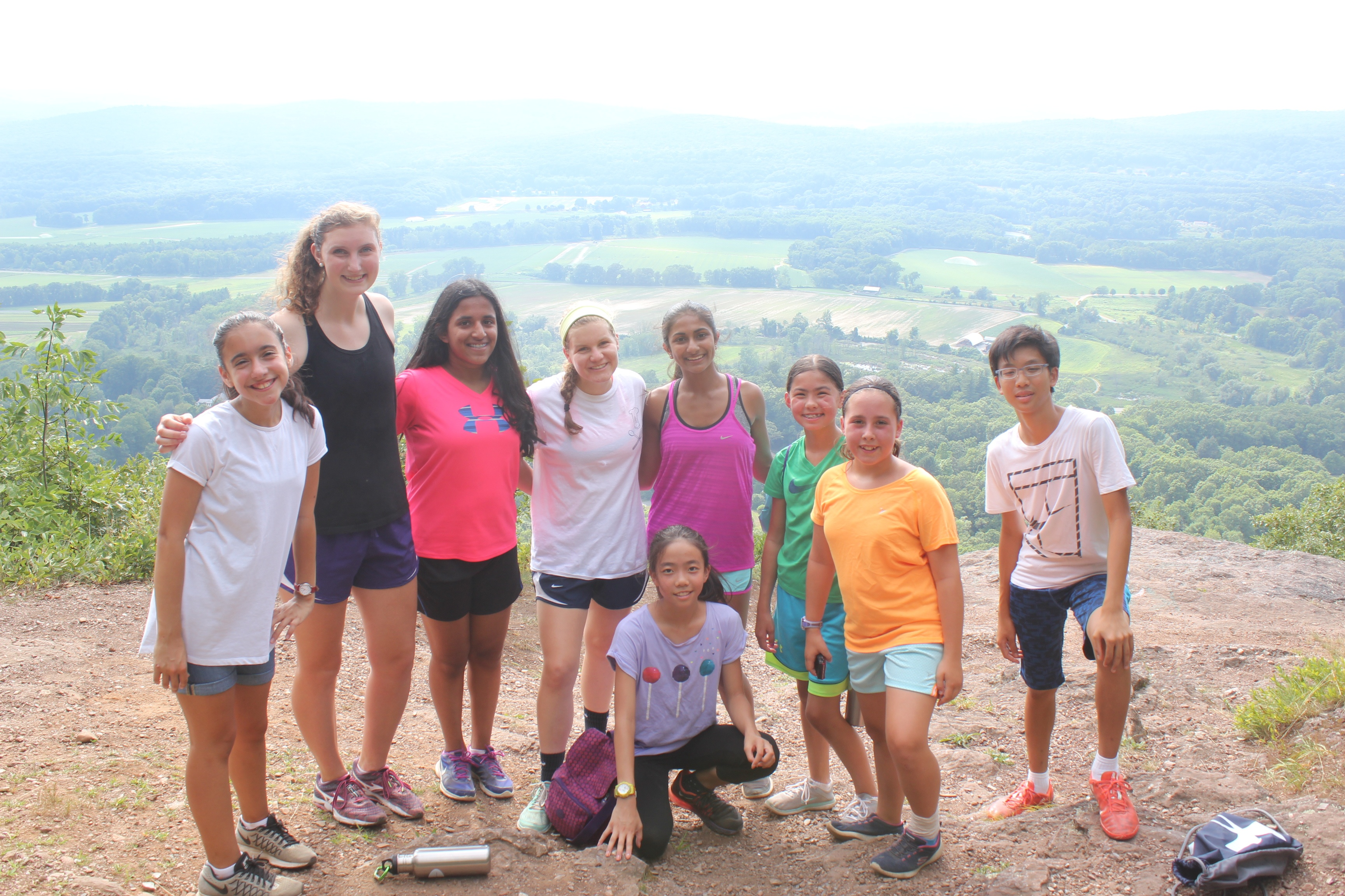 A hike to the Rock is a Deerfield Academy classic.