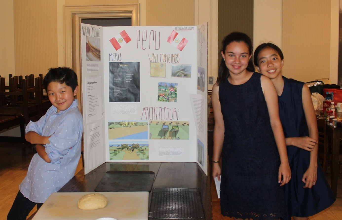William, Ava, and Serena proudly present their Peruvian hotel and restaurant design at the Experimentory Final Showcase.