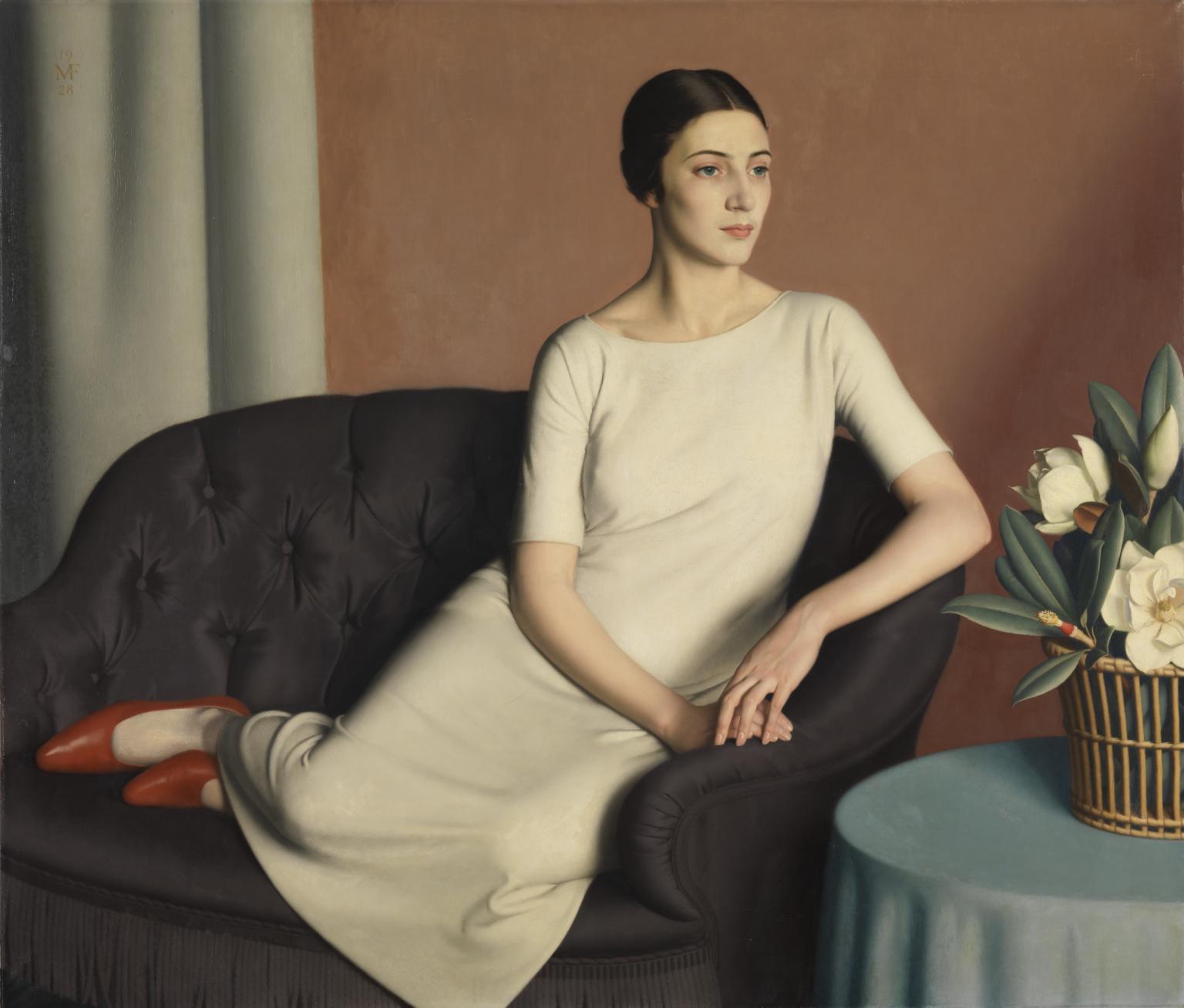 Painting 4 Meredith Frampton Marguerite Kelsey 1928.jpg