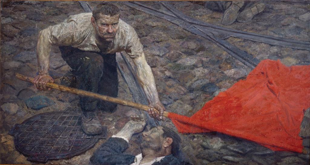 Painting 5 Geli Korzhev Raising the Banner.jpg